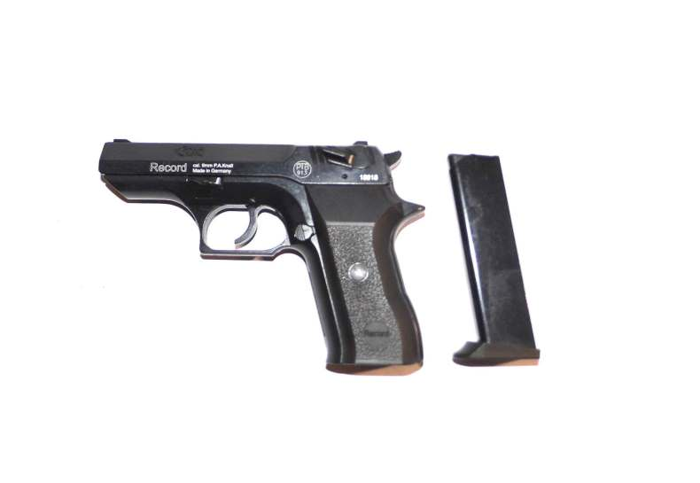 Bild Gas-Pistole RECORD Cop 9mm PAK Abb. Nr. 04