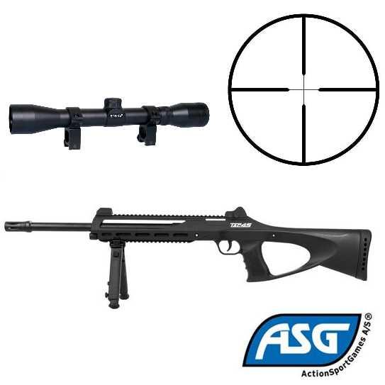 Bild TAC 45 ASG TAC 4.5 mm BB + ZF 4x32 Strike Sniper Abb. Nr. 1