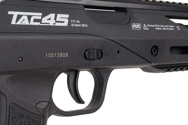Bild Nr. 16 TAC 45 ASG TAC 4.5 mm BB + ZF 4x32 Strike Sniper