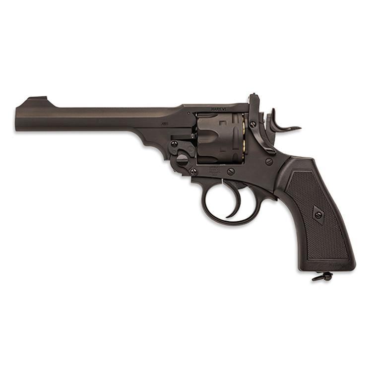 Bild Webley MK VI Revolver 6mm schwarz Vollmetall Abb. Nr. 02