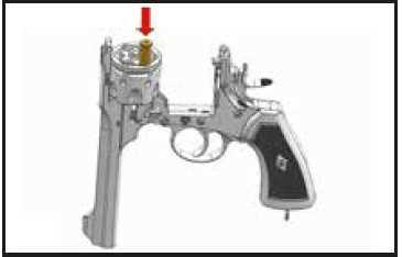 Bild Webley MK VI Revolver 6mm schwarz Vollmetall Abb. Nr. 06