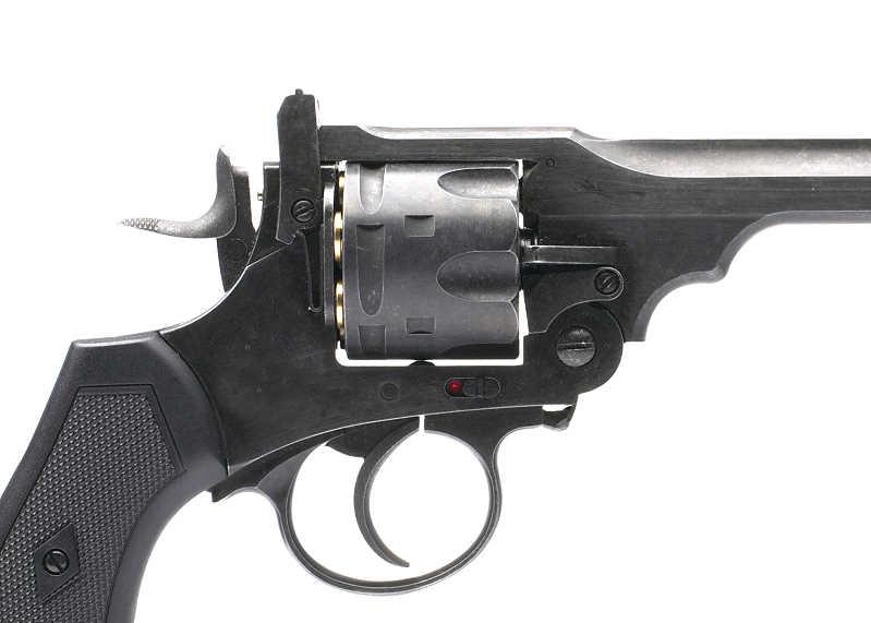 Bild Webley MK VI Revolver 4,5mm BB Battlefield Vollmetall Abb. Nr. 02