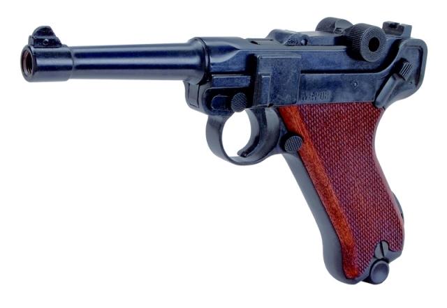 Bild Schreckschuss-Pistole P 08 mit Kniegelenkverschluss Kal. 9mm P.A.K. Abb. Nr. 1