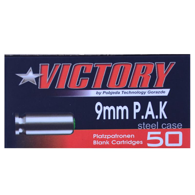 Bild 9mm PAK Victory Stahlhülsen 50 Schuss Abb. Nr. 1