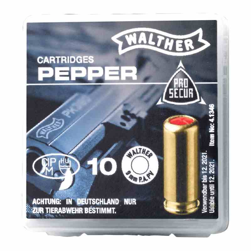 Walther Defense-Pfefferpatrone 9mm PA