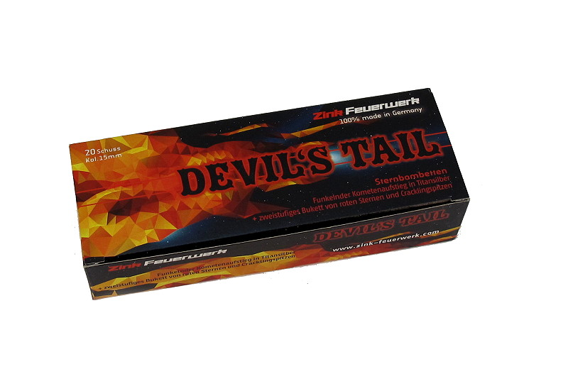 Devils Tail 20 Schuss  15mm Pyro