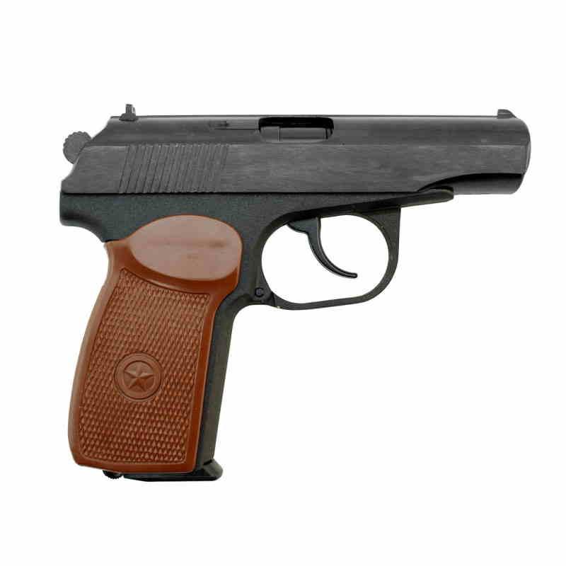 Bild Nr. 02 Makarov Baikal 4,5mm CO2 Pistole Vollstahl