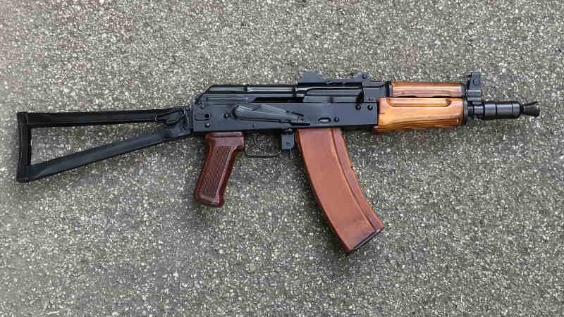 Bild Nr. 03 AK74-SU AKSU CO2 YUNKER 4,5mm CO2-Gewehr