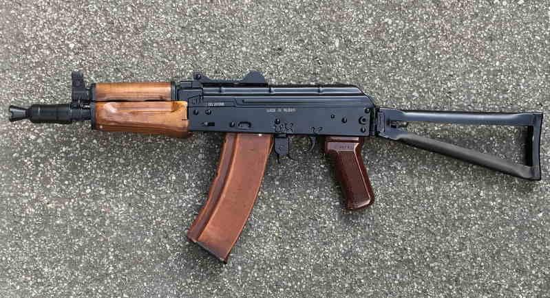 Bild Nr. 04 AK74-SU AKSU CO2 YUNKER 4,5mm CO2-Gewehr