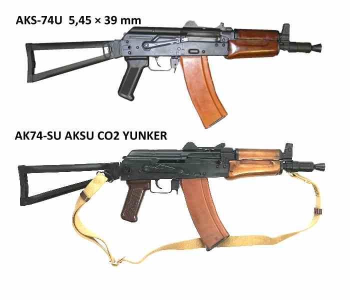 Bild Nr. 18 AK74-SU AKSU CO2 YUNKER 4,5mm CO2-Gewehr