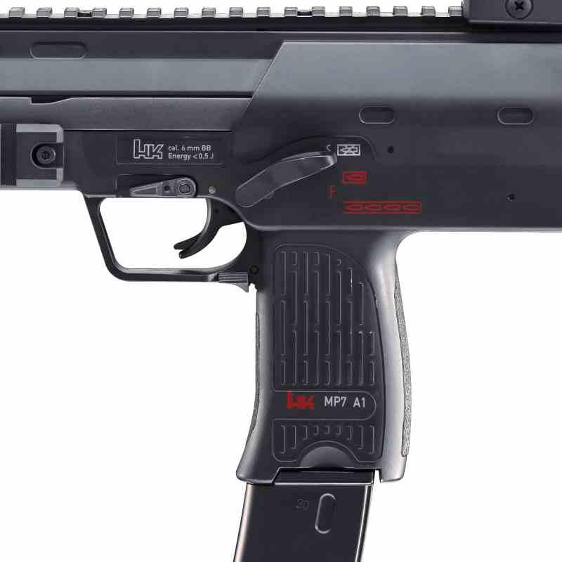 Bild Heckler & Koch MP7 A1 SWAT 6mm Abb. Nr. 04