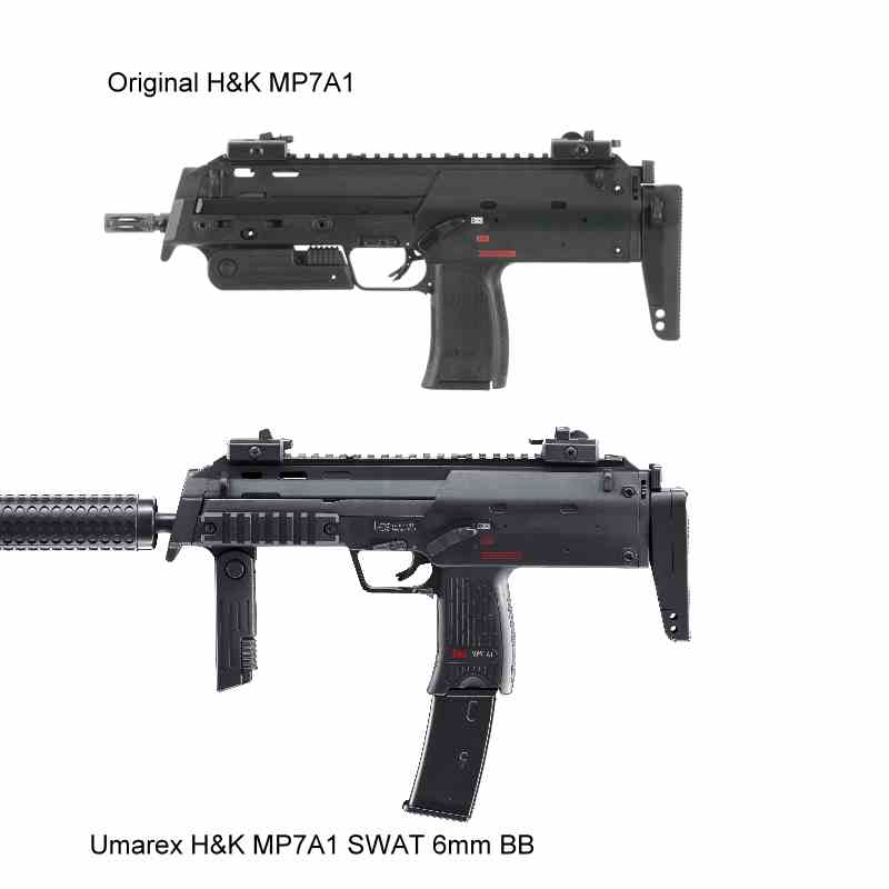 Bild Heckler & Koch MP7 A1 SWAT 6mm Abb. Nr. 06