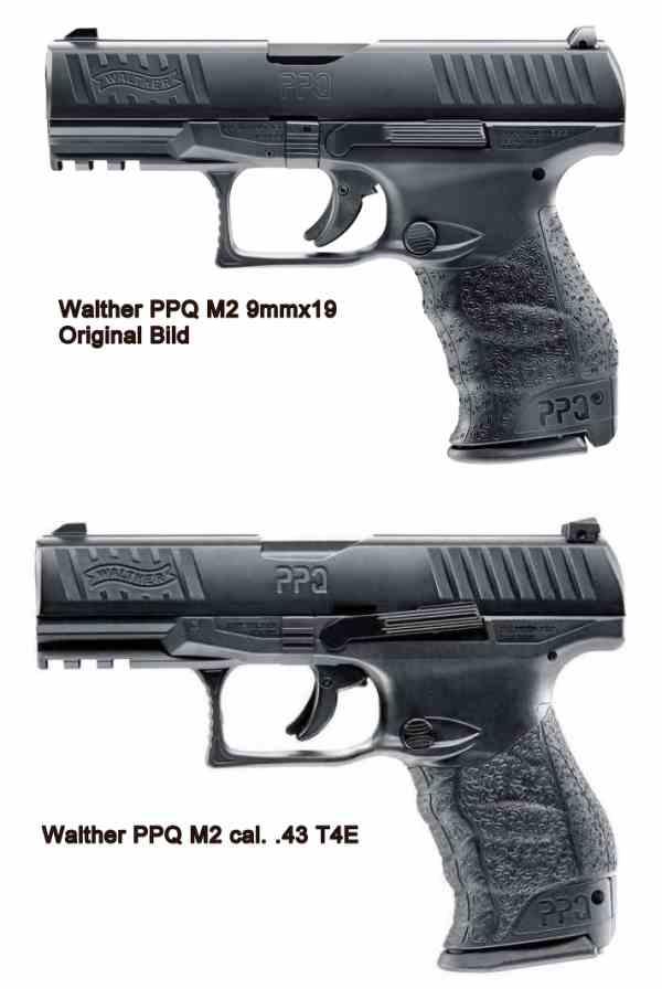 Bild Nr. 09 Walther PPQ M2 T4E cal.43