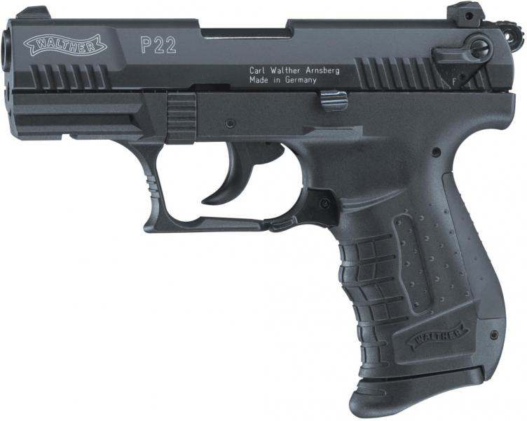 Walther P22 cal. 9 mm P.A.K. Schwarz