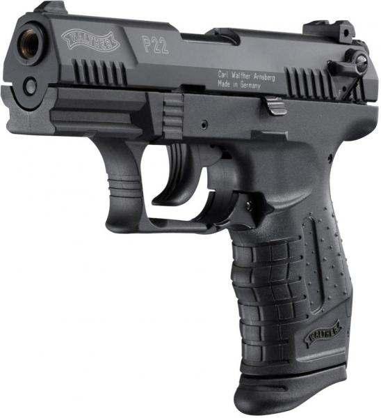 Bild Nr. 02 Walther P22 cal. 9 mm P.A.K. Schwarz