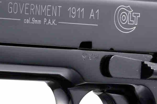 Bild Nr. 03 Colt Government 1911 A1 cal. 9 mm P.A.K.