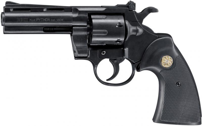 revolver reck colt python cal 9 mm rk g nstig kaufen freie waffen gas revolver. Black Bedroom Furniture Sets. Home Design Ideas