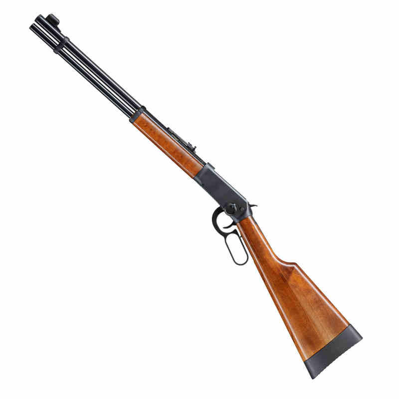 Winchester Luftgewehr Walther CO2 Lever Action Holz schwarz