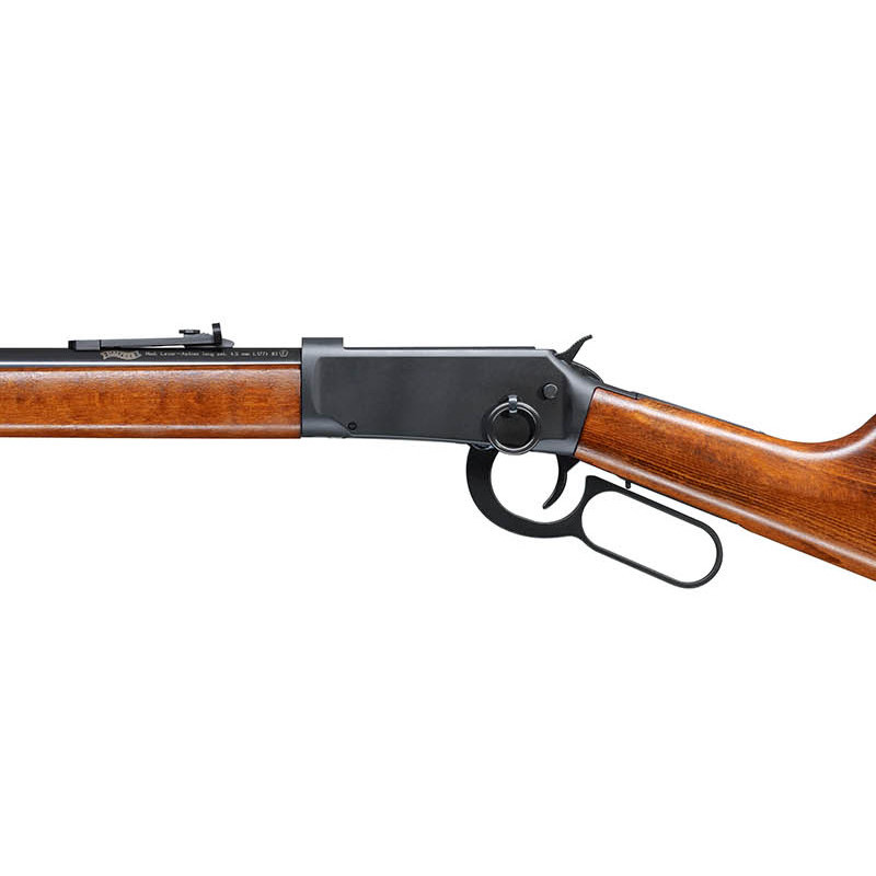 Bild Nr. 02 Winchester Luftgewehr Walther CO2 Lever Action Holz schwarz