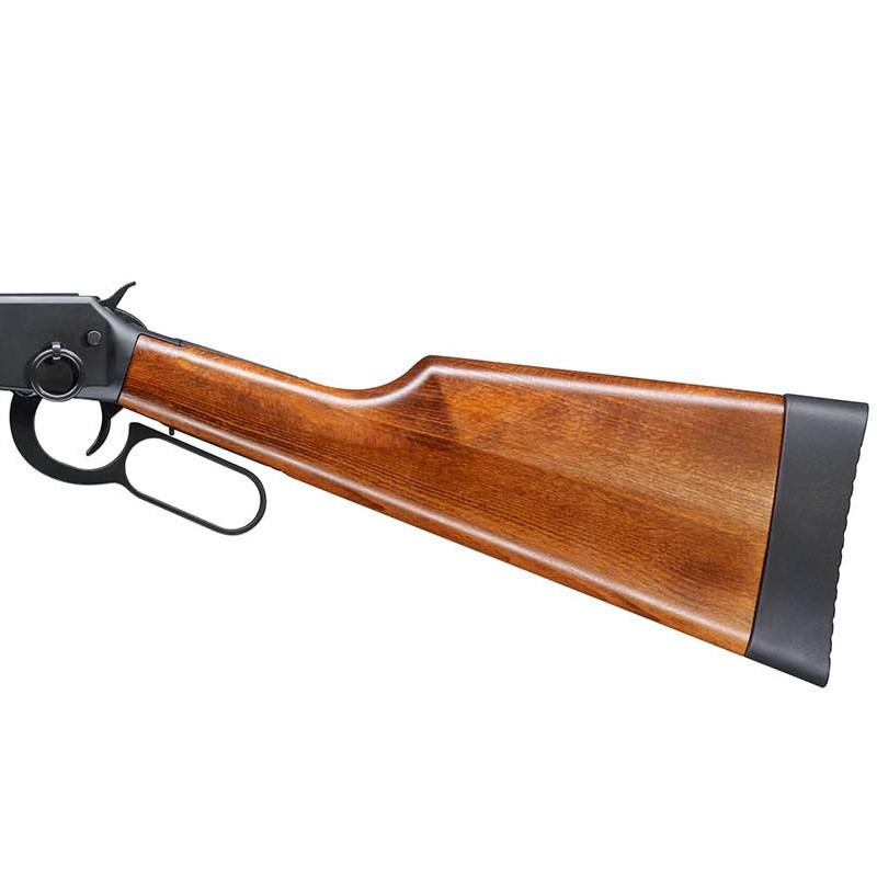 Bild Nr. 04 Winchester Luftgewehr Walther CO2 Lever Action Holz schwarz