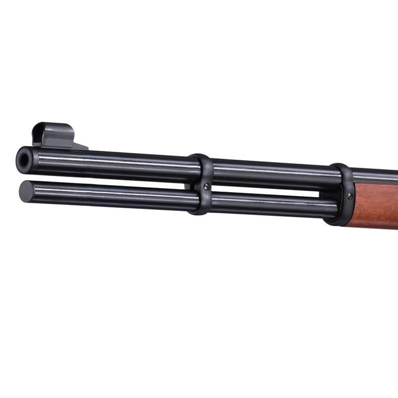 Bild Nr. 06 Winchester Luftgewehr Walther CO2 Lever Action Holz schwarz