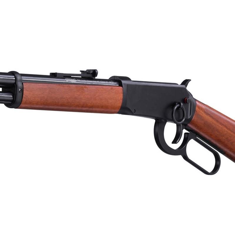 Bild Nr. 07 Winchester Luftgewehr Walther CO2 Lever Action Holz schwarz