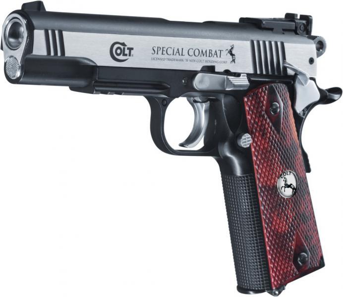 Bild Colt Special Combat Classic  cal. 4,5 mm (.177) Abb. Nr. 02