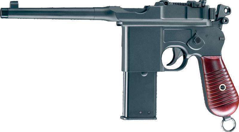 Bild Mauser Pistole C96 cal .177 Abb. Nr. 1