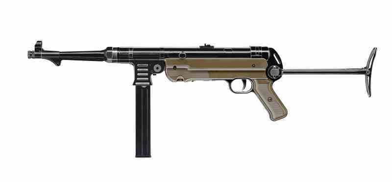 MP 40 CO2 4.5mm Legends MP German Vollmetall schwarz