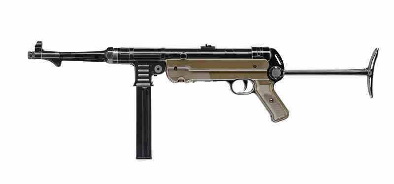 MP 40 CO2 4.5mm Legends MP German Vollmetall schwarz