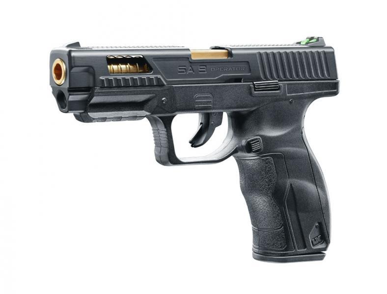 Bild UX SA9 Operator Edition CO2 Pistole Abb. Nr. 02