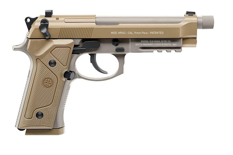 Bild Nr. 02 Beretta M9A3 FDE 4.5mm frei ab 18