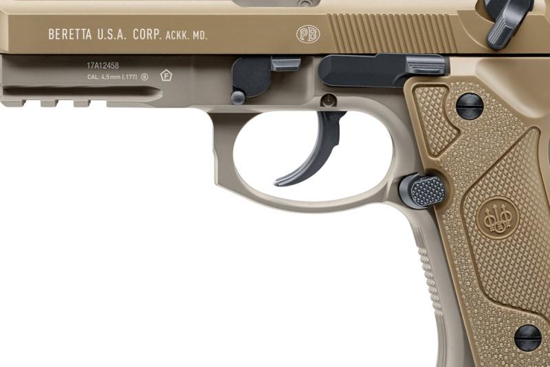 Bild Beretta M9A3 FDE 4.5mm frei ab 18 Abb. Nr. 03