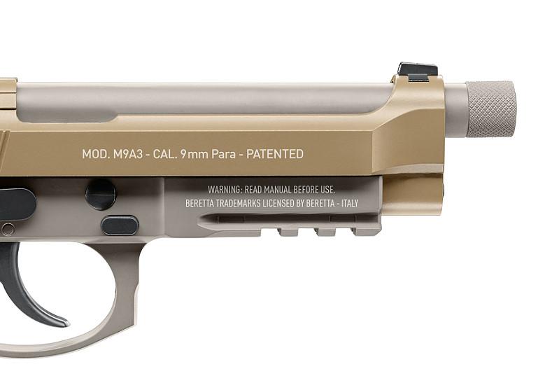 Bild Beretta M9A3 FDE 4.5mm frei ab 18 Abb. Nr. 04