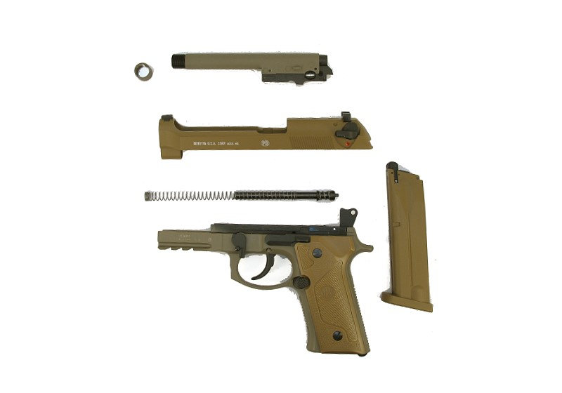 Bild Nr. 05 Beretta M9A3 FDE 4.5mm frei ab 18