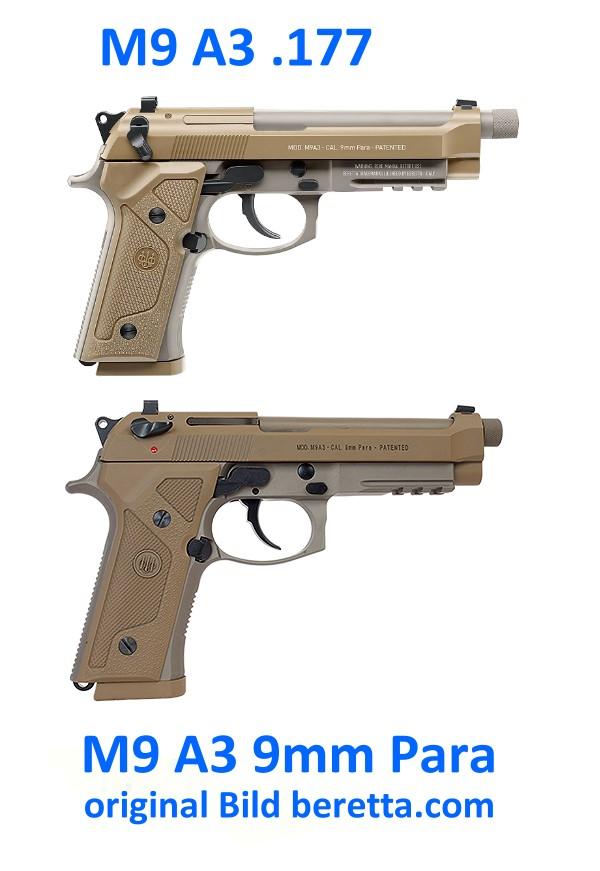 Bild Beretta M9A3 FDE 4.5mm frei ab 18 Abb. Nr. 07
