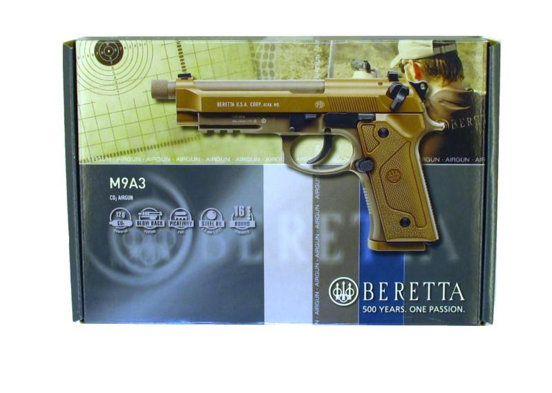 Bild Nr. 08 Beretta M9A3 FDE 4.5mm frei ab 18