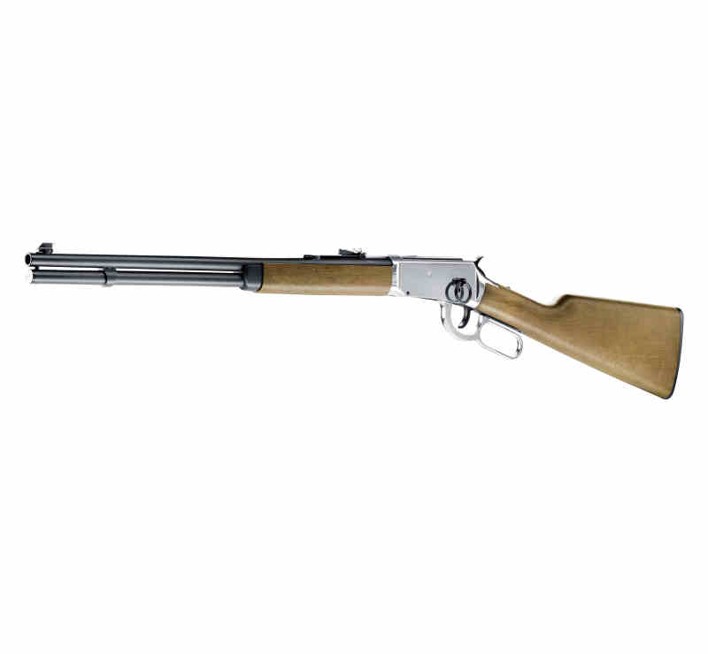 Cowboy Rifle Winchester Luftgewehr Stainless Abb. Nr 03