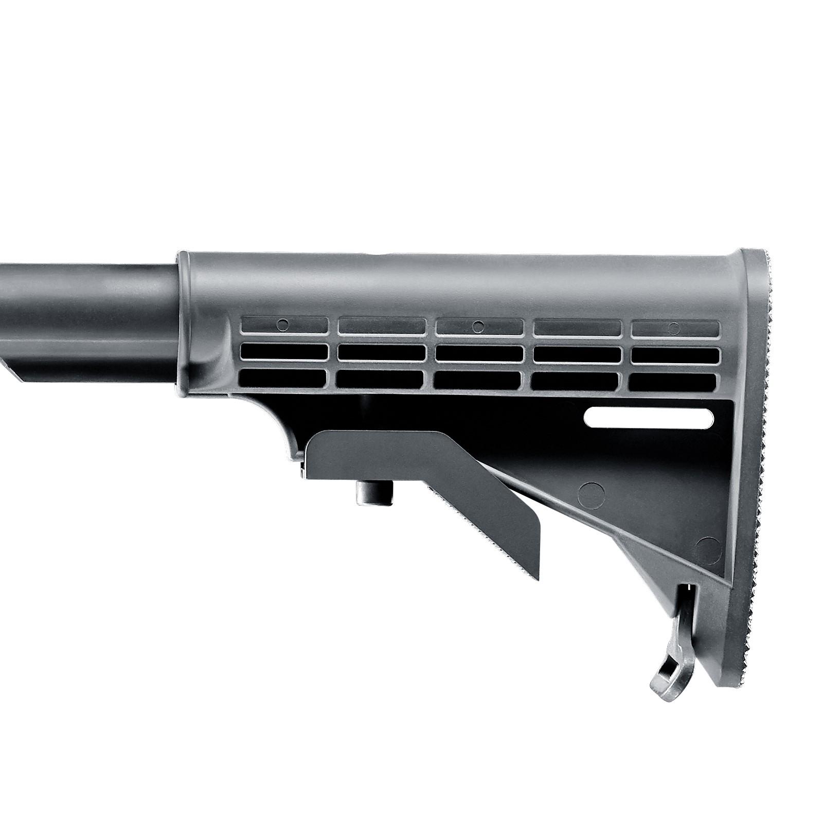 Bild Nr. 07 T4E TM4 RIS Schwarz Carabiner PLUS