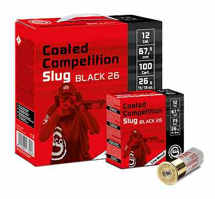 GECO Slug Black 26  100St