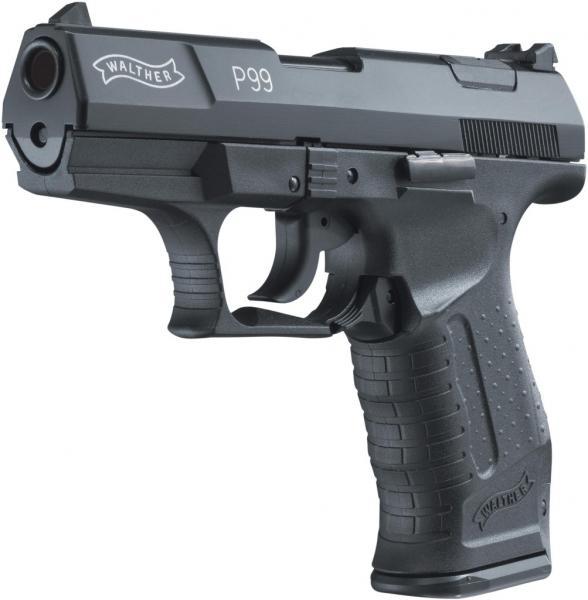 Bild Nr. 02 Walther P99 Schreckschuss-Pistole Kal. 9mm P.A.K