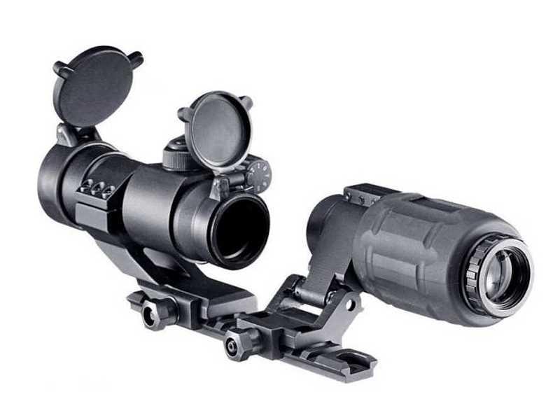 Bild Nr. 02 Walther EPS3 PS22+3fach Leuchtpunktvisier
