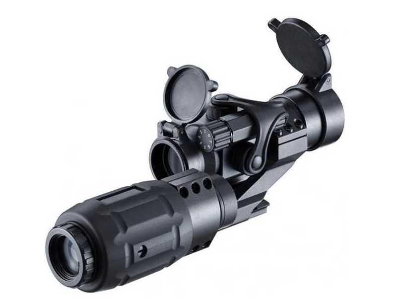 Bild Nr. 03 Walther EPS3 PS22+3fach Leuchtpunktvisier