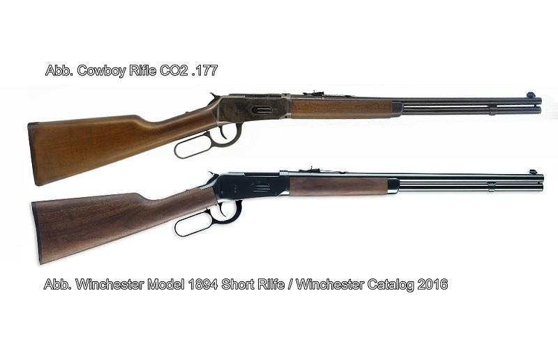 Bild Cowboy Rifle Winchester Luftgewehr Abb. Nr. 22