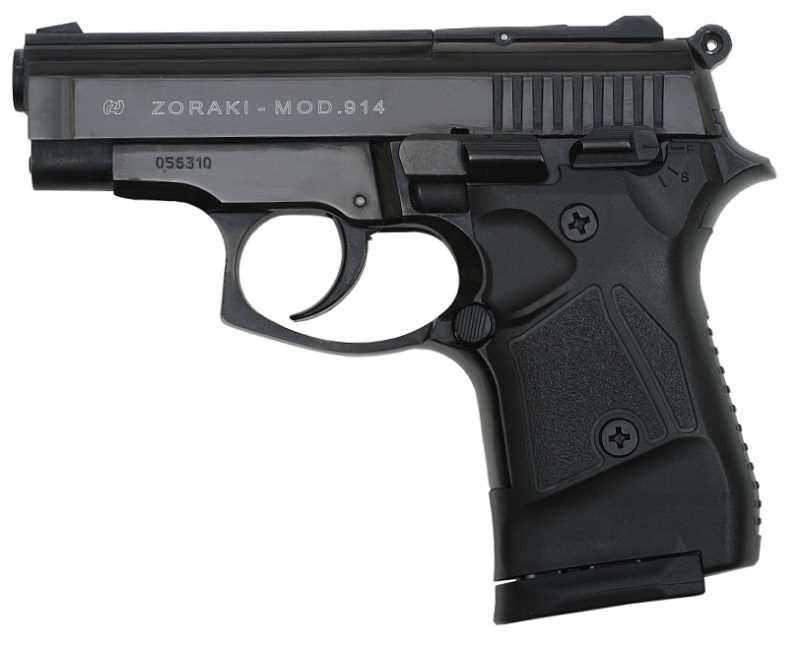 Zoraki Pistole Modell 914 9mm PAK PTB 972