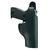 Universal Pistolenholster Leder schwarz AKAH ESCORT