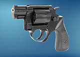 Revolver ME 38 Pocket-4 R lang brüniert Kunststoffgriff