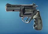 Revolver  ME 38 Magnum-4 R lang  brüniert  Kunststoffgriff