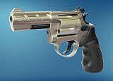 Revolver  ME 38 Magnum-6 mm  nickel  Kunststoffgriff