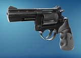 Revolver  ME 38 Magnum-6 mm  brüniert  Kunststoffgriff